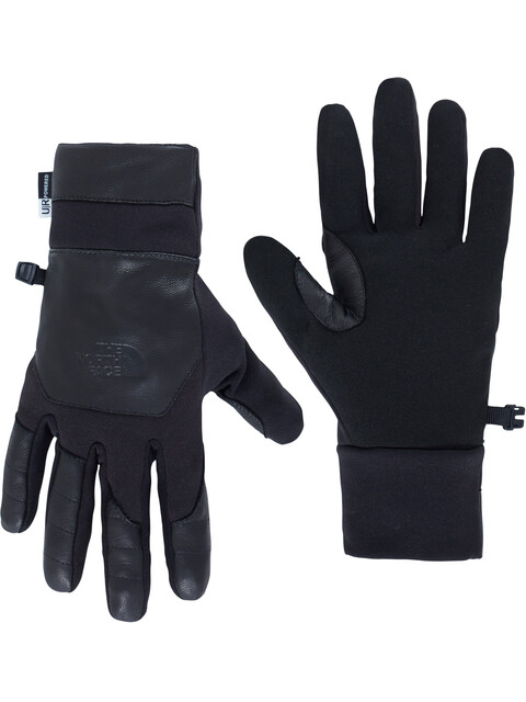 The North Face Etip Leather Gloves Men Black